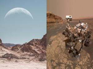 Désert d'Atacama et planète Mars